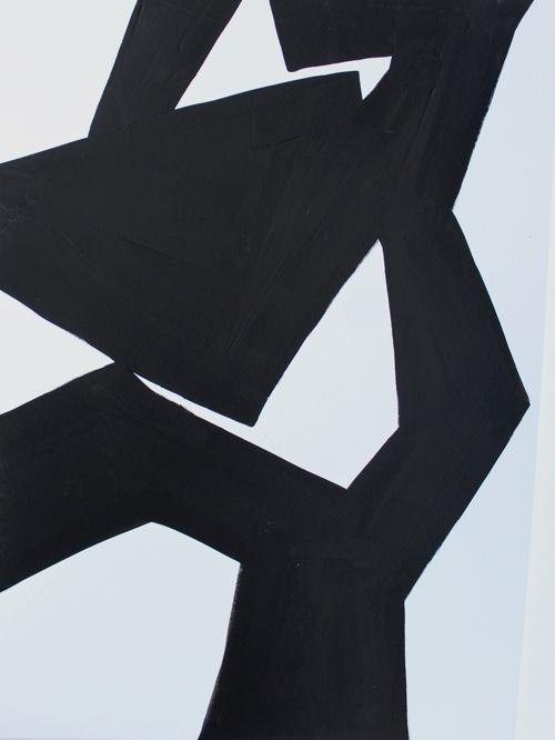 Marita Mattheck - meeting XII 2019 Acryl auf Papier 70x50 cm