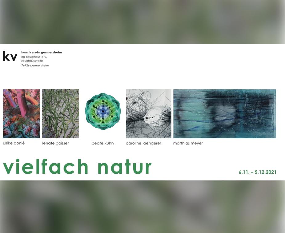 Titelbild Ausstellung vielfach natur